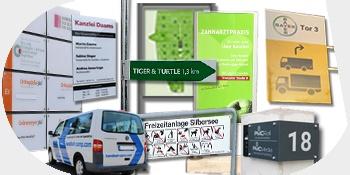 Werbetechnik und Werbeschilder von Industrieschilder Jancke