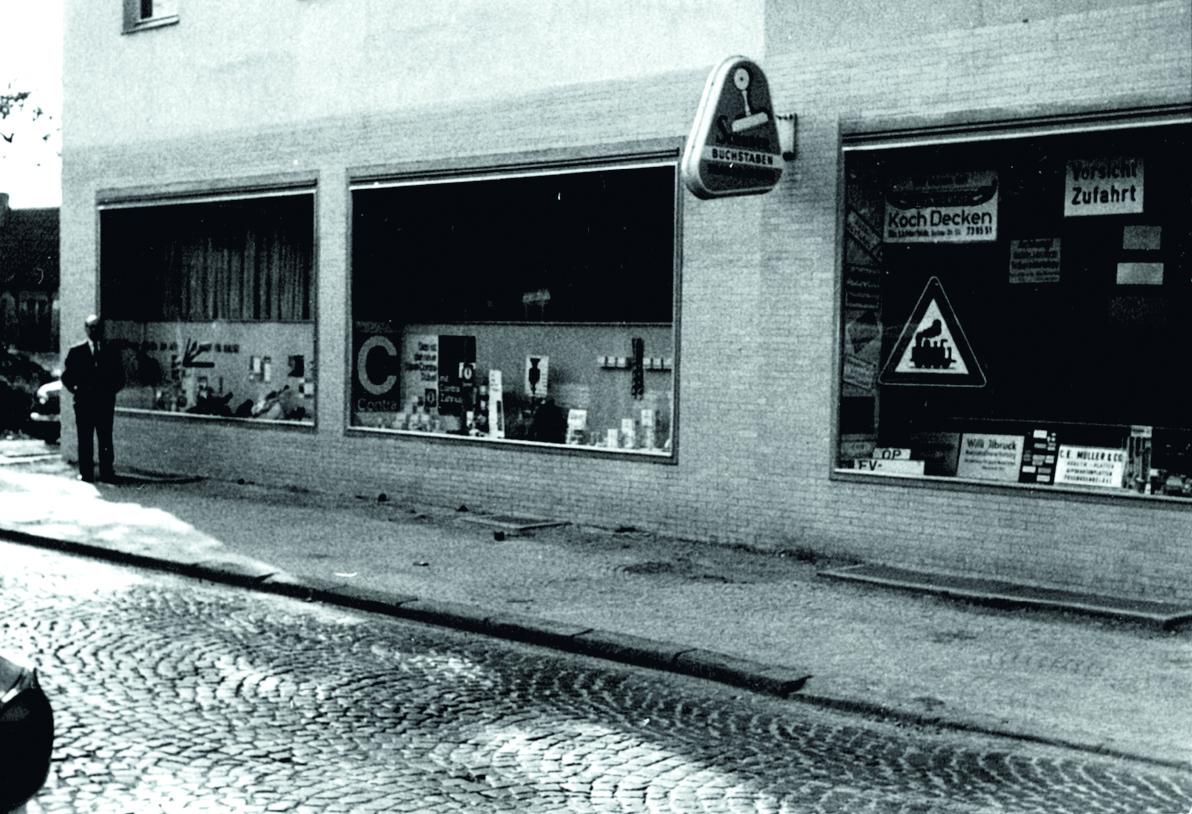 Unternehmen - Erstes Ladenlokal