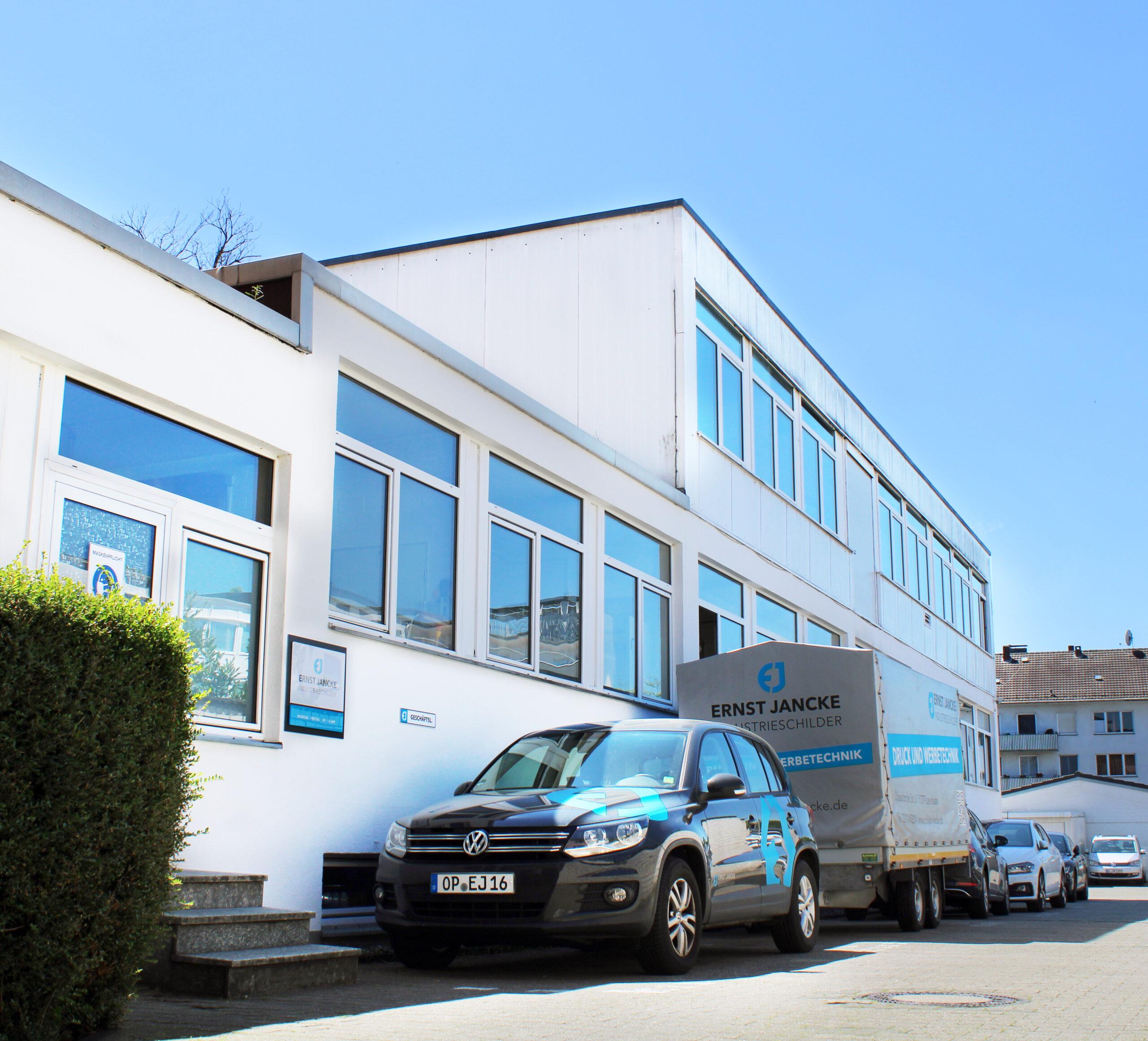Unternehmen Zentrale Ernst Jancke Industrieschilder GmbH