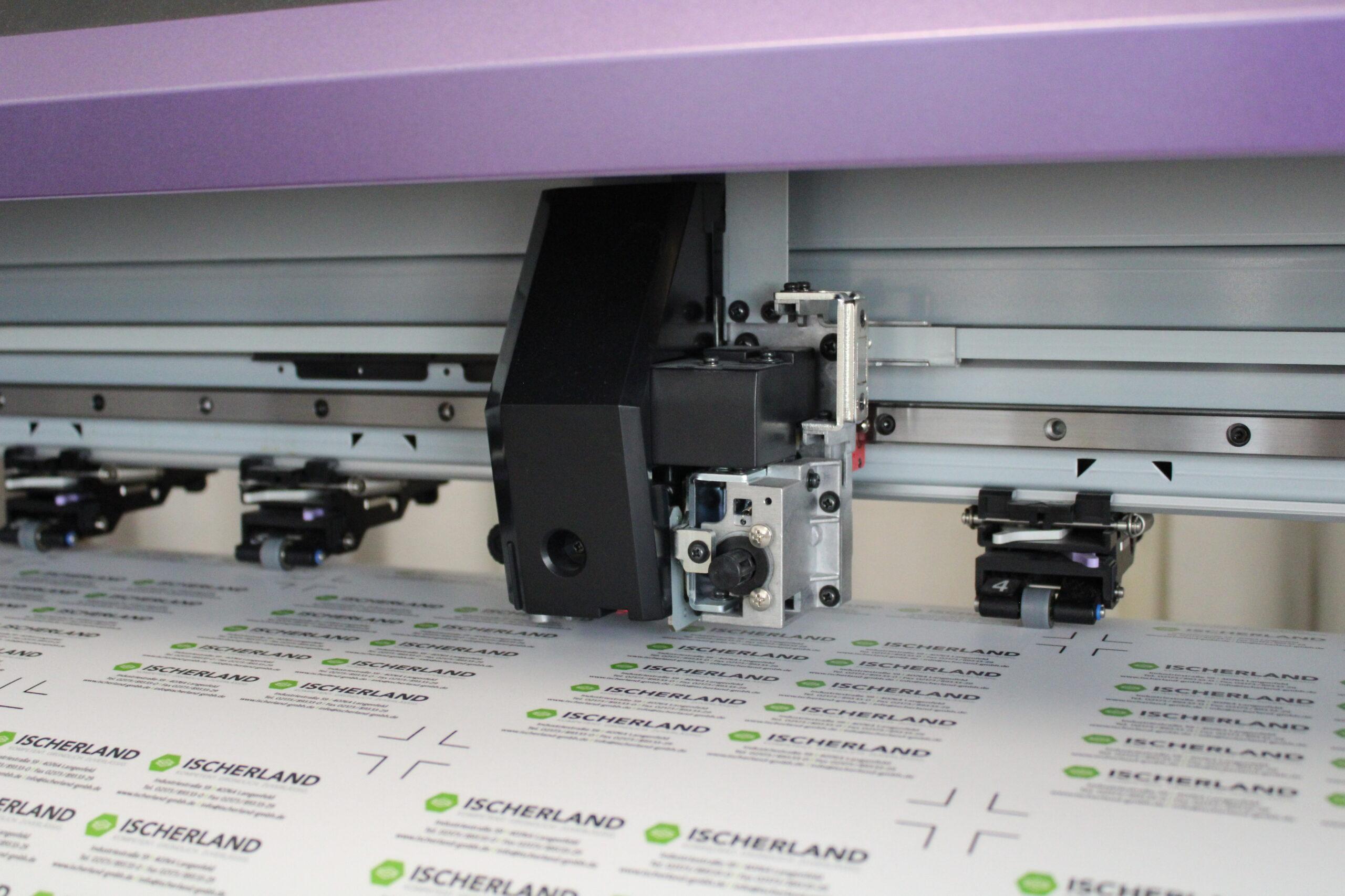 Digitaldruckmaschine Ernst Jancke Industrieschilder GmbH